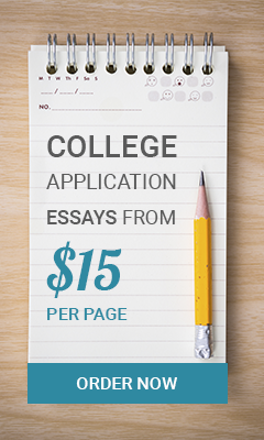 College application essays from $15 per page