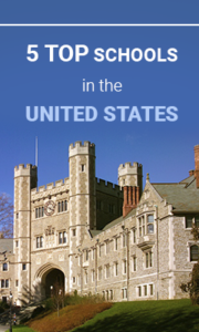 5 top schools in the United States