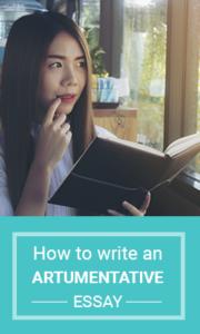 How to write an artumentative essay